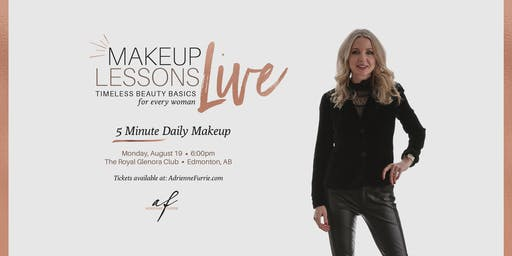 FRESH 5 MINUTE DAILY MAKEUP - Live Group Makeup Lesson