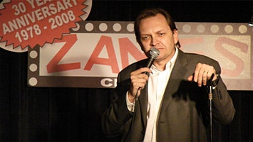 Comedian Larry Reeb