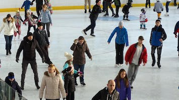 Ice Skating at Aviator Sports and Events Center