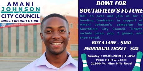 Bowl for Southfield's Future tickets