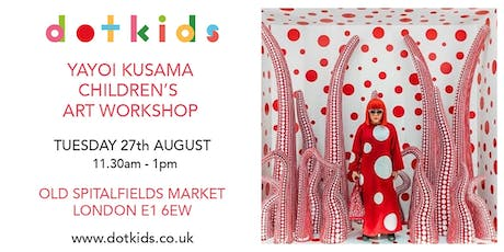 Yayoi Kusama Children's Art Workshop for kids tickets