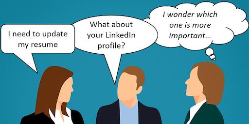 Resume & LinkedIn Coaching Workshop-Early Bird/Reg