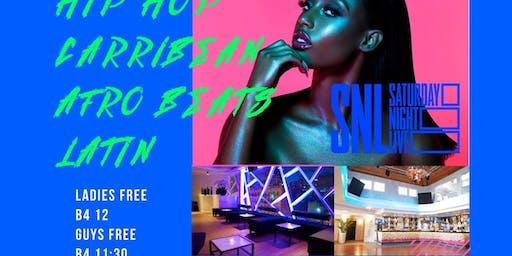 Saturday Night Live @ 760 Rooftop Hip Hop Caribbean Afrobeats Latin