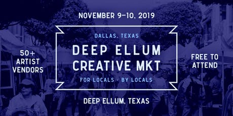 Deep Ellum Creative Market tickets