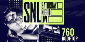 Saturday Night Live @ 760 Rooftop Hip Hop Caribbean...