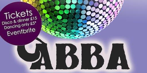 ABBA Dinner & Disco Night