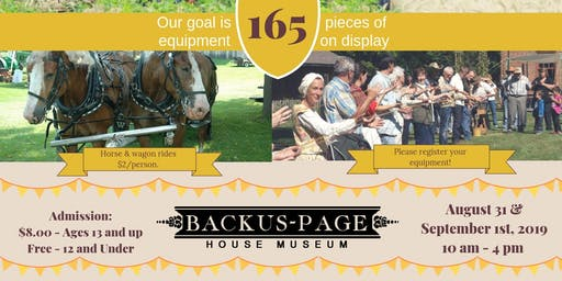 Heritage Farm Show (Admission & Food Vouchers)
