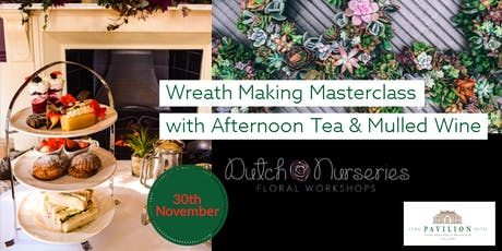 Wreath Making with Afternoon Tea & Mulled Wine tickets