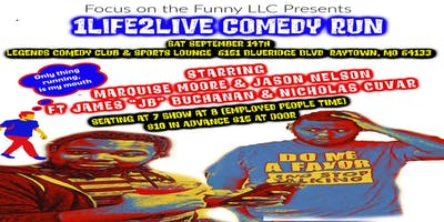 Focus on the Funny Presents 1Life2Live Comedy Run (KCMO)