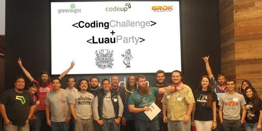 Fourth Annual Coding Challenge Luau