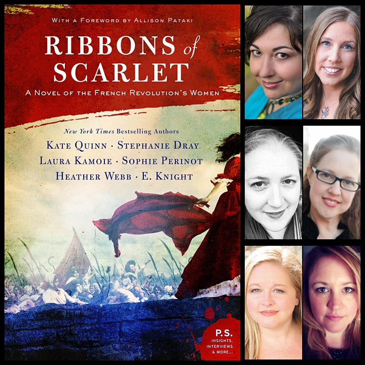"""Meet the SIX Authors of """"Ribbons of Scarlet"""" image"""