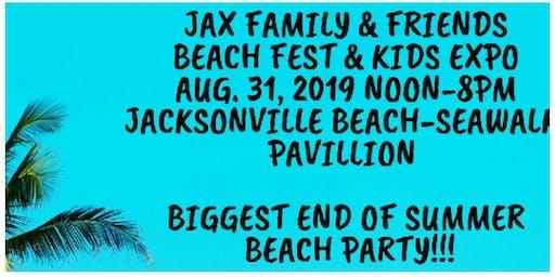 Jax. Family & Friends Beach Fest & Kids Expo