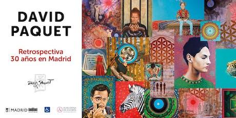Exposición de David Paquet en Casa de Vacas del 5 al 29 septiembre 2019 tickets