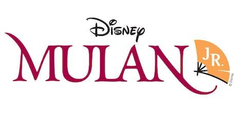 STA presents Disney's Mulan Jr. tickets