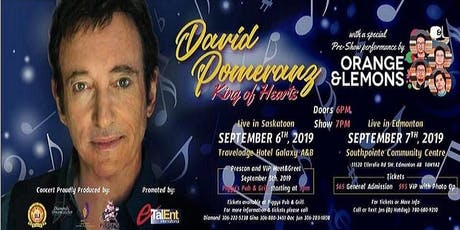 David Pomeranz - King of Hearts Tour with Orange and Lemons tickets