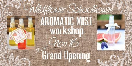Aromatic Mist Workshop tickets