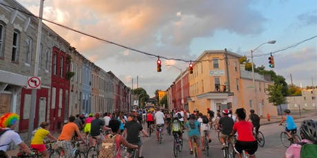 Baltimore Bike Party: August Ride! tickets
