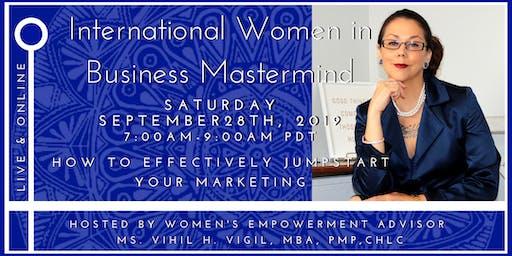 International Women in Business Mastermind - Jumpstart Your Marketing!