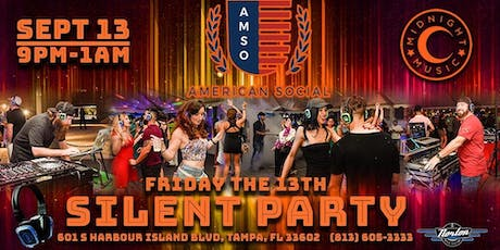 Friday the 13th Silent Party tickets
