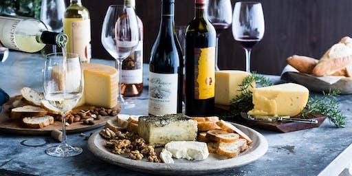Recebendo com Queijos & vinhos - aula com degustação