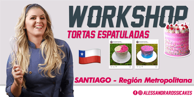 Workshop Tortas Espatuladas - SANTIAGO