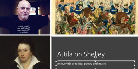 Attila the Stockbroker on Shelley! An evening of  radical poetry and music. tickets