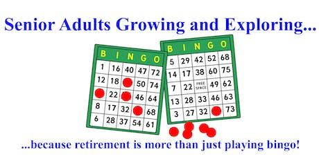 Retirement Pleasures & Pitfalls: A Discussion & Social Event for Seniors 40 tickets