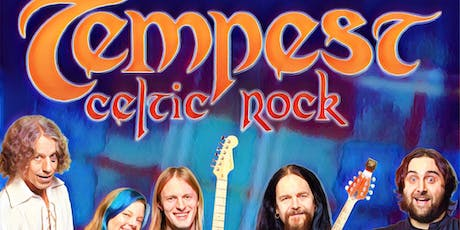 TEMPEST - Nordic / Celtic Rock - Thursday September 26 - 7:30 PM - $ 20 Tickets + Fees + NJ Sales Tax  tickets