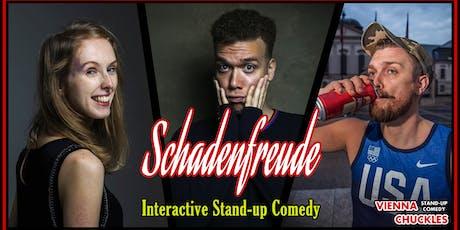 Schadenfreude: Interactive Stand-up Comedy Tickets