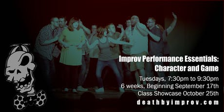 Improv Performance Essentials: Character and Game tickets