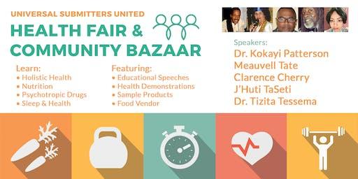 Health Fair & Community Bazaar 2019