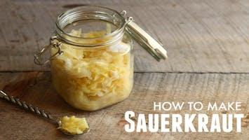 Sauerkraut Making Class (and bring home)