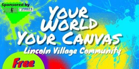 Your World Your Canvas tickets