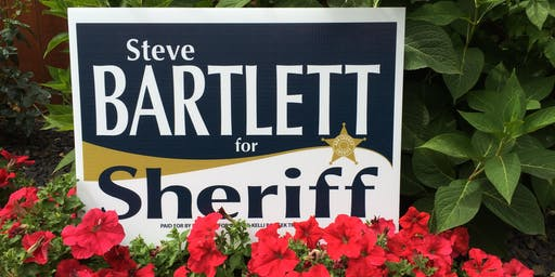 Steve Bartlett for Sheriff Golf Tournament