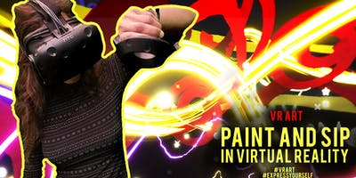 Paint and Sip in Virtual Reality