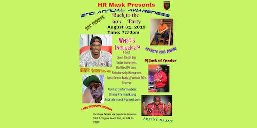 HR M.A.S.K 2ND ANNUAL AWARENESS GALA