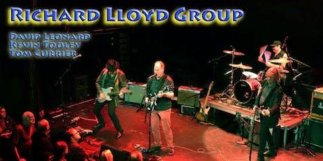 RICHARD LLOYD GROUP Saturday October 19 - 7:00 PM - $ 25 Tickets + Fees + NJ Sales Tax  tickets