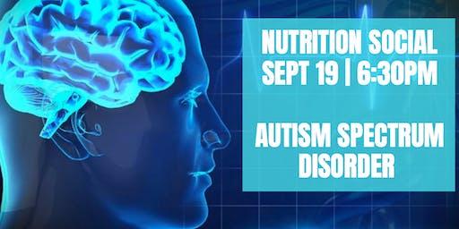 Nutrition Social - Autism Spectrum Disorder