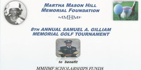 The Martha Mason Hill Memorial Foundation 2019 Annual Golf Tournament tickets