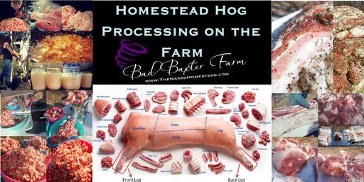 Homestead Hog Processing - 2 Day Hands on Intensive