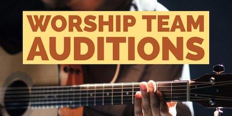 Worship Team Auditions: Awakening House of Prayer tickets