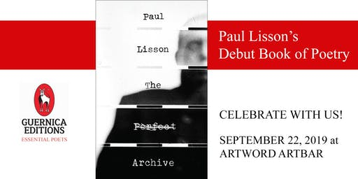 Paul Lisson's Debut Book of Poetry • Guernica Editions