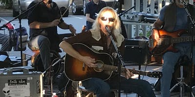 Danny Click and the **** Yeahs (acoustic) at Corte Madera Summer Concerts