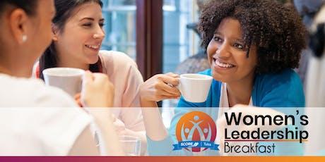 SCORE Women's Leadership Breakfast - August - Bixby tickets