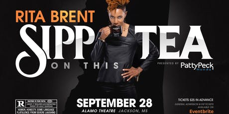 Sipp on this Tea Comedy Show with Rita Brent tickets