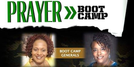 PRAYER BOOT CAMP tickets