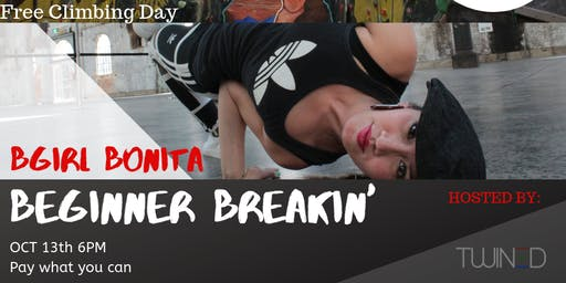 Free Climbing Day and Beginner Breakin' Workshop