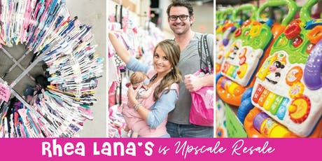Rhea Lana's Amazing Children's Consignment Sale in Owasso - Claremore! tickets
