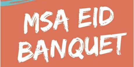 MSA Eid Banquet tickets