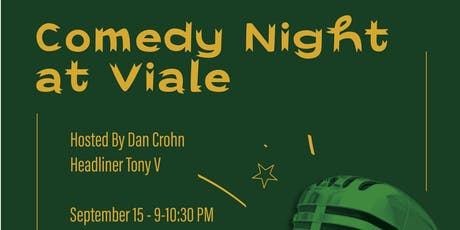 Comedy Night at Viale tickets